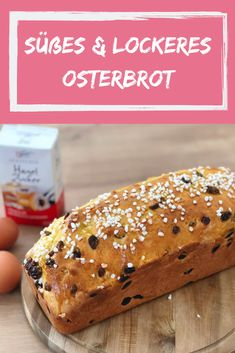 Soft and sweet Easter bread from mom& kitchen - the recipe! - This great recipe will sweeten every breakfast and coffee gossip. Wonderfully loose and slightly swe - Gourmet Recipes, Bread Recipes, Snack Recipes, Snacks, A Food, Food And Drink, Healthy Protein, Keto Diet For Beginners, Dessert