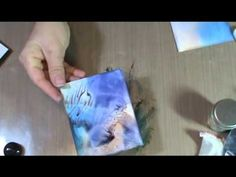 Cathy Taylor-Altered Papers Pt 2- Altered Paper Options - YouTube
