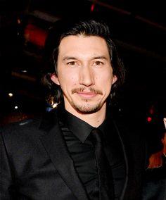 Adam Driver at the 'Star Wars: The Last Jedi' premiere in Los Angeles