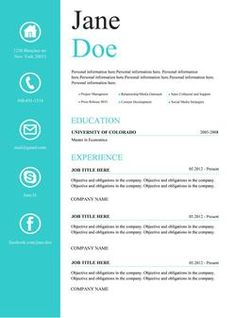 63 Best Microsoft Word Creative Resume Templates Images Creative