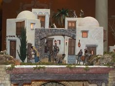 Christmas Villages, Nativity, Miniatures, Mansions, House Styles, Ube, Inspiration, Google, Projects