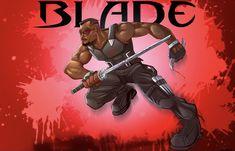 Day Walker, Comic Books, Comic Art, Deadpool, Deviantart, Superhero, Blade, Artwork, Fictional Characters