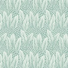Delilah Turqoise Revival Period Wallpaper - Delilah, a lush high quality turquoise and silver period wallpaper, created from an original Edwardian design. Sample available Edwardian House, Edwardian Fashion, Edwardian Style, Swedish Wallpaper, Fabric Paper, Print Patterns, Tapestry, Turquoise, Quilts