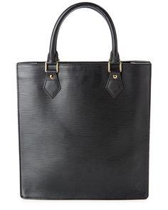 Louis Vuitton Black Epi Leather Sac Plat is on Rue. Shop it now.