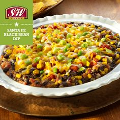 This easy Spicy Santa Fe Black Bean Dip from Kuner's is a great option to enjoy your next can of Kuner's® Petite Diced Tomatoes. View more recipes! Appetizer Salads, Appetizer Recipes, Appetizers, Black Bean Dip, Black Beans, Organic Recipes, Mexican Food Recipes, Healthy Beans, Quiche Dish