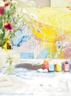 Colour, Light and Love – An Afternoon at Jessica Zoob's Studio