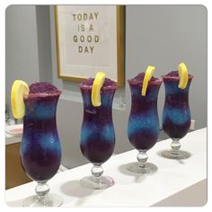 """This ones called """"Galaxy"""" Friday's drinks at the Kennedy Jewellers Bar and Lounge. Friday Drinking, Bar Lounge, Hurricane Glass, Jewels, Drinks, Creative, Design, Jewelery, Jewelry"""