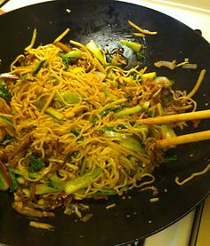 The ExPat Returneth: Yaki Soba: the Ultimate Festival Food to Eat at Home