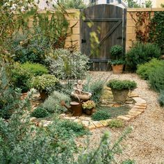 Old-World kitchen garden - Landscaping Ideas with Stone - Sunset