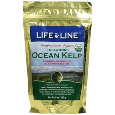 New Product:   Life Line Pet Nutrition Organic Ocean Kelp Dog & Cat Supplement is nature's pure supplement from the icy waters of Northwestern Iceland where the kelp grows in a clean environment rich in alluvial minerals. It is harvested with the strictest international standards for sustainability separation of raw material traceability of products and contamination control at all stages of the production process.  Kelp is a rich source of natural vitamins and minerals including essential…