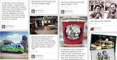Five examples of brands that are nailing Pinterest: ben & jerry's, random house booksong, lowe's, sony, pantone,