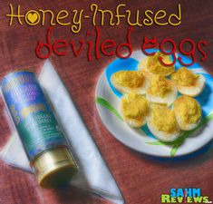 Being self-proclaimed honey-connoisseurs, we were anxious to try out Golden Blossom Honey's regular and organic products in our Honey-Infused Deviled Eggs. - SahmReviews.com