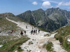 Wandern in der Hohen Tatra raubt einem im wahrsten Sinne des Wortes den Atem