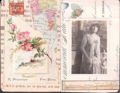 Mary Green - glue book spread