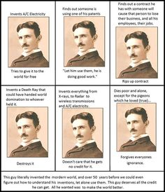 Nikola Tesla Was Awesome. Seriously, seriously awesome!