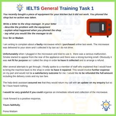 Which of these General Training Task 1 Models gets the best score? - IELTS with Fiona English Vinglish, English Exam, English Study, English Class, Learn English, Essay Writing Skills, Ielts Writing, English Writing Skills, Writing Tips