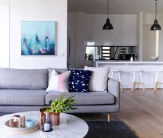 Melissa Lunardon Interior Design Photography by Kate Hansen Bedroom Bed, Master Bedroom, Interior Design Photography, Sofa, Couch, Love Seat, Kate Hansen, Furniture, Home Decor