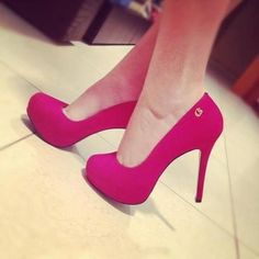 My favorite color! Like feet candy...