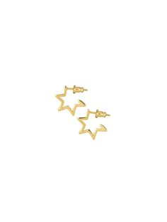 Browse Star Hoops Gold and more from Tada & Toy at Wolf & Badger - the leading destination for independent designer fashion, jewellery and homewares. Ear Jacket, Delicate Rings, Star Shape, Earring Backs, Stargazing, Hoop Earrings, Rose Gold, Stars, Silver