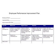 Administrative assistant performance goals examples professional smart action plan template in our sample template the employee never completes assigned tasks fandeluxe Choice Image