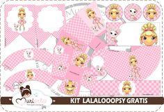 Kit de Lalaloopsy para Imprimir Gratis.