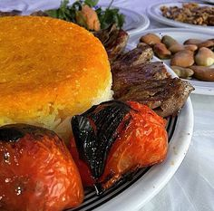 Iranian kebab & rice. Deeelicious! #iran_culinary_tour www.irandestination.com