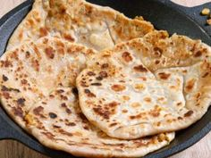 Paneer Paratha: Parathas are rotis with a filling and in this case it happens to be paneer. This protein-rich ingredient when combined with wheat makes for a wholesome meal that can be eaten on its own. Perfect to pack in your kid's tiffin box. Here's the recipe. More On >> Food & Fun