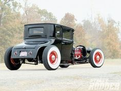 1927 Ford Model T Coupe - Flat-T