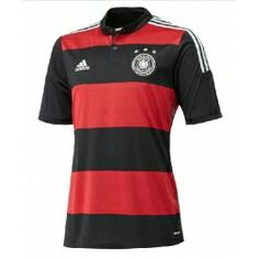 Germany 2014 World Cup Home and Away Kits unveiled. The new 2014 Germany World Cup Kit comes with a design inspired by the 1990 kit. Germany 2014 World Cup Shirt includes black sleeve cuffs and a white short. World Cup Shirts, World Cup Jerseys, Football Design, Football Kits, Rugby Kit, Germany Football, Soccer Uniforms, Football Jerseys, Soccer Equipment