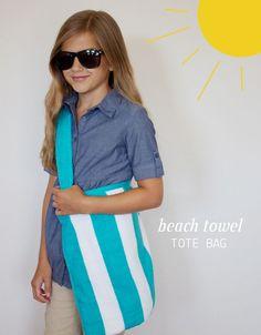 [dandee]: Beach Towel Tote Bag.