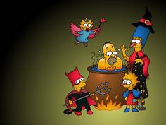 HD Wallpapers The Simpsons - The Simpsons Family