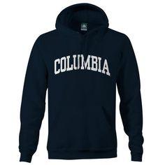 Columbia Classic Hooded Sweatshirt (Navy)