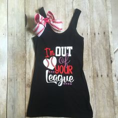 """Out of your league"" tank"
