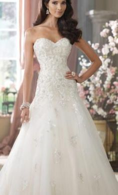 David Tutera Kristi: buy this dress for a fraction of the salon price on PreOwnedWeddingDresses.com
