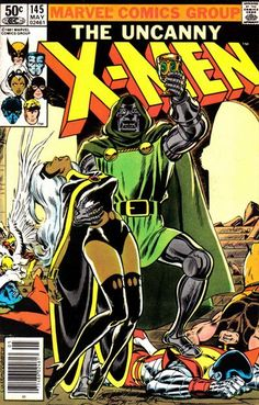 The Uncanny X-Men #145 (1981 series) - cover by Dave Cockrum