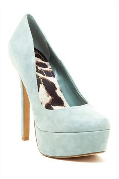Mint Pumps. Jessica Simpson