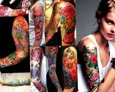 tattoo bovenarm vrouw cover up - Google zoeken