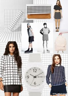 Grid Trend MADE BY www.theanthologist.nl   grid pattern   grid clothes   grid fashion   gridded pattern