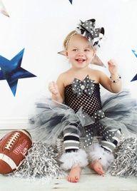 Dallas Cowboys Sports Fan Tutu Outfit