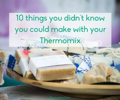 Aside from delicious food, your Thermomix is great for making candles, body scrubs, soap, play dough and more. Check 10 things you can make that aren't food