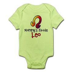Mommy's Little Leo Infant Bodysuit