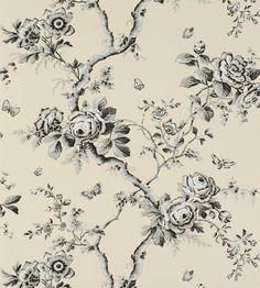 Ashfield Floral Wallpaper by Ralph Lauren | Jane Clayton
