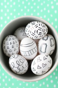 Make This: Super Easy Easter Egg DIY with Sharpies
