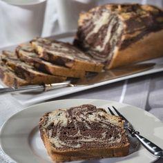 Zebrakuchen aus der Kastenform