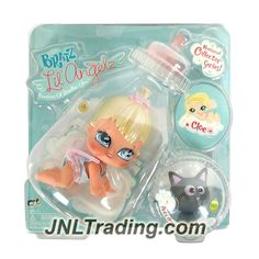 MGA Entertainment Bratz Lil Angelz Series 4 Inch Doll with Pet Set - CLOE (#4) and Black Cat (#160)