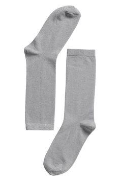 Linnea lurex sock