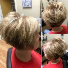 Today we have the most stylish 86 Cute Short Pixie Haircuts. Pixie haircut, of course, offers a lot of options for the hair of the ladies'… Continue Reading → Stacked Hairstyles, Short Stacked Haircuts, Short Blonde Haircuts, Wavy Bob Hairstyles, Haircuts With Bangs, Short Hairstyles For Women, Short Hair Cuts, Short Hair Styles, Razor Cut Hair