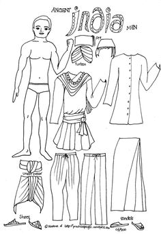 The paper men of Ancient History are here! Featuring Ancient Egypt, Ancient Rome, Vikings, Ancient China and Japan and Ancient India, these paper men will complement your Paper Dolls of A… Ancient World History, History Of India, Ancient China, Ancient Rome, Coloring Books, Coloring Pages, Tapestry Of Grace, Middle School History, 6th Grade Social Studies