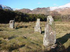 Loch Buie Stone Circle: Craignure, Scotland, Isle of Mull