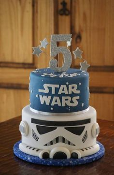 the Best Star Wars Birthday Cake . Smile Laugh and Learn Star Wars Lego Cake Birthday Cake Fondant, Star Wars Birthday Cake, Birthday Cake For Him, Themed Birthday Cakes, Birthday Cake Toppers, Fondant Cakes, Themed Cakes, Cupcake Cakes, Cupcakes
